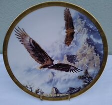 "Lenox Decorative Plate ""Soaring the Peaks"" by Kelley."