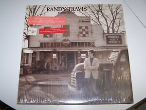 Vintage 1986 33 Record Album Warner Brothers Randy Travis Storms Of Life