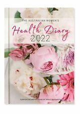 2022 The Australian Women's Health Daily Journal A5 Week to View Diary Spiral