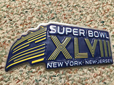 New listing Collectible Plastic Sign, 2014 Super Bowl Xlviii New York - New Jersey