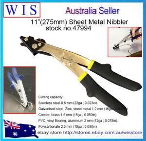 """11""""(275mm) Plastic Metal Sheet Nibbler Shears,Sheet Metal Nibbler Hand Nibbler"""