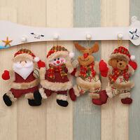 Eg _ Ornamento di Natale Babbo Pupazzo Neve Alce Orso Albero da Appendere
