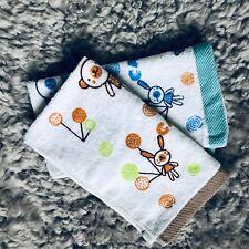 100% Cotton Kids Children Face Towel Washer Hand Towel Washcloth