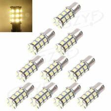 10PCS 27 SMD LED 1156 1141 1003 RV Camper Trailer Interior Light Bulbs White