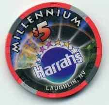 Harrah'S Laughlin Casino $5 Casino Millennium Chip