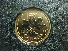 1999 UNC Specimen Canadian Penny One Cent - 1 cent coin