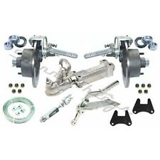 GALVANISED Mechanical Disc Brake Kit - Caravan, Car, Box Trailer Parts