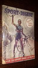 SPORT-DIGEST n°32 Juillet 1951 - Spécial Tour de France