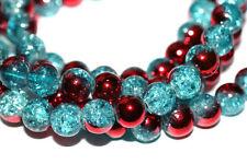100pc 8mm Glass Bracelet / Necklace Beads 1-3 day Shipping
