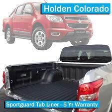 Holden Colorado (2012-Current) - Sportguard Tub Liner - Dual Cab Ute