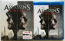 ASSASSINS CREED BLU RAY DVD 2 DISC + SLIPCOVER TARGET EXCLUSIVE DAGER ARM SLEEVE