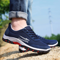 New men Casual sport shoes Net surface breathable non-slip running Hiking shoes