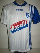 LAUSANNE-SPORTS 1997-98 HOME SHIRT SIGNED ADIDAS JERSEY SIZE S