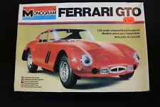 Monogram Ferrari GTO 1:25 kit