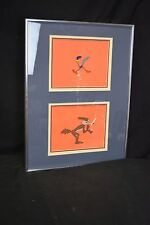 Warner Bros. Road Runner Wile Coyote, production animation cels