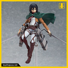 Attack on Titan Mikasa Ackerman Figma 203  Max Factory Good Smile AUTHENTIC