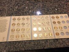Bu Presidential Dollar Set 2007-2016 (38 Coins)