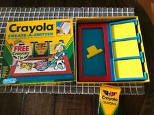 Crayola Create-A-Critter in Box Rubbing Design Plates