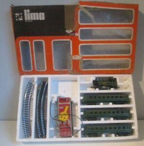 RARE VINTAGE LIMA BOXED TRAIN SET SOUTHERN 4572 LOCOMOTIVE UNTESTED