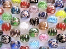 Bulk 100pcs Mixed Lampwork Glass Rings FREE POST