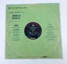 Million Sellers Down Memory Lane Vinyl LP Record Album Mono