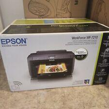 Brand New Epson WorkForce WF-7210 Inkjet Photo Printer Black