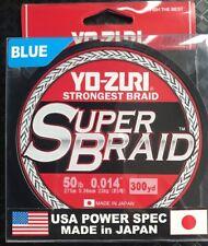 YO-ZURI SUPERBRAID 50lb 300yds 8 Ply