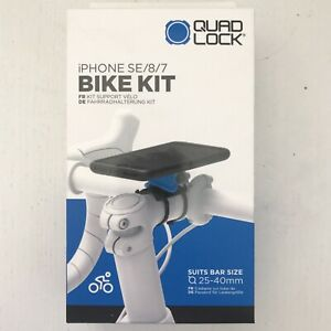 Quad Lock Stem Mount Bike Kit, For iPhone SE, iPhone 8, iPhone 7