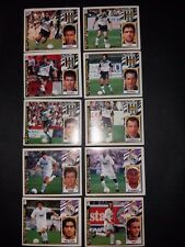ESTE 1997/1998 LOTE (1)  10 CROMOS DISTINTOS DEL MERIDA Y REAL MADRID