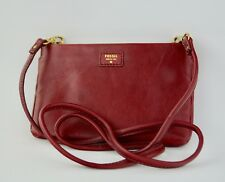 NWT Fossil Mimi Convertible Clutch Cranberry Handbag SWL1092 (SWL1092608), New