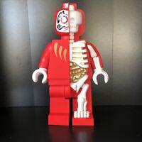 Mighty Jaxx JASON FREENY Bigger Micro Anatomic Daruma Red LEGO Figure Limited