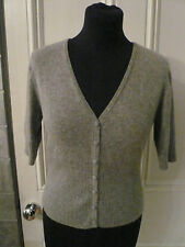 Cardigan 100% cashmere beautiful supersoft stylish luxury exemplay cond lovely