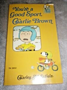 You're a Good Sport, Charlie Brown - P/B - Published 1976 Snoopy Scholastic
