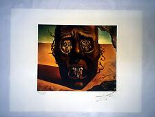 Salvador Dali Litografia 50 x 65 Bfk Rives Timbro a secco Firmata a Matita D230