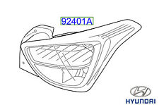 Genuine Hyundai i10 2017 unidad de luz Trasera LH - 92401B9100
