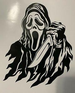 Scream/Ghostface/Scary/Slasher Movie/Psycho/Halloween/Horror Movie Decal