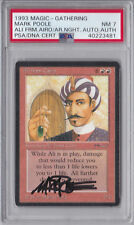 Ali From Cairo Arabian Nights AUTOGRAPHED PSA 7 NM Magic MTG Mark Poole signed