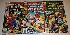 Marvel Team Up # 57,58,60 9,0/9.2 Spider-Man