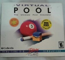 Virtual Pool / Virtual Pool 2 Dual Jewel PC 2001 NEW Sealed FREE SHIPPING