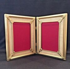ANTIQUE 1920'S  DOUBLE PICTURE FRAME