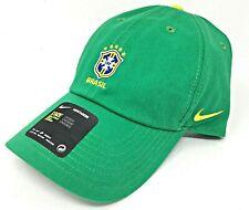 Nike CBF Brasil H86 Strapback Cap Green OSFA Heritage 86 World Cup Soccer Hat