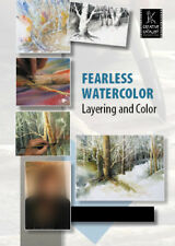 Fearless Watercolor, Layering and Color with Linda Baker - Art Education DVD