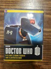 "Doctor Who Deluxe Mega Kit - 4"" K-9 Light & Sound Figurine + Mini Book - New!"