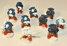 Warhammer 40k Space Marine Tactical Squad x10 Missile Launcher Paint Started