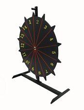 "18"" Write-on Prize Wheel 14 Slots Countertop Luckydraw Spinner Door Prize Wheel"