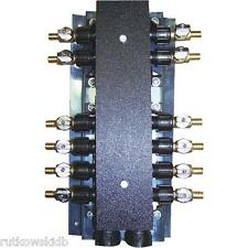 SharkBite 12-Port PEX Barb Manifold with Shutoff Valves