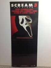 SCREAM 3 MOVIE PROMO CARD BIN From Sndtrk CREED SEVENDUST STAIND STATIC-X SOAD