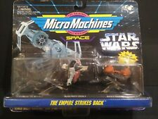 Star Wars Galoob 1994 MicroMachines The Empire Strikes Back Vehicle 3-Pack New