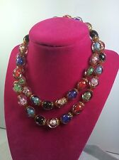 Beautiful Clear Color Beads Necklace -  Fashion B3*