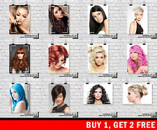 HAIR STYLE BEAUTY SALON SPA HAIRDRESSER Woman Haircut Barber Buy 1 Get 2 FREE